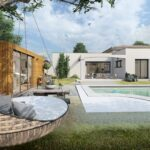 Maison plain pied de 120m – 3/4 chambres