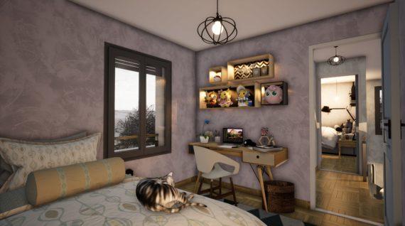Modélisation d'une chambre en 3D