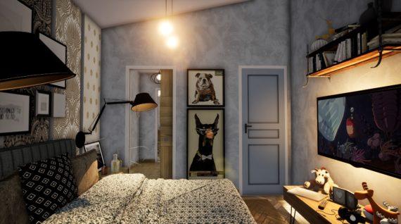 Chambre parentales en 3D
