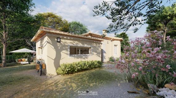 Maison traditionnelle en provence