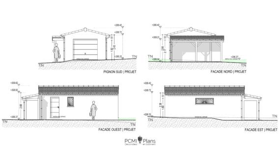 PCMI 5 Facade de garage