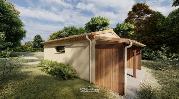 Garage et abri de jardin bois