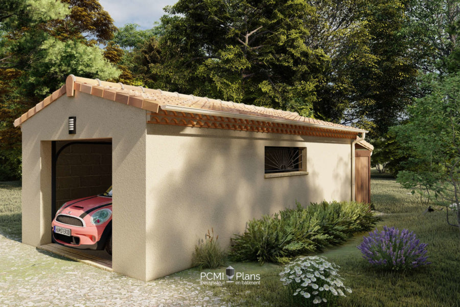 Garage de 30m²