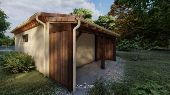 Abri de jardin bois