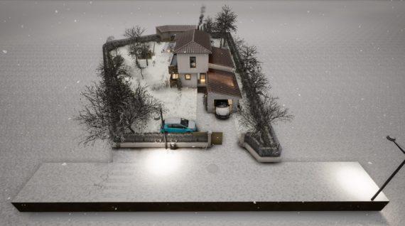 Conception 3D d'une construction