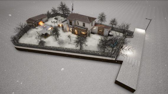 Modélisation en 3D d'un terrain