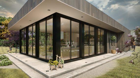 Maison à ossature bois de 110m