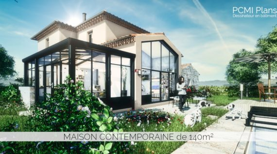 Maison contemporaine de 140m²