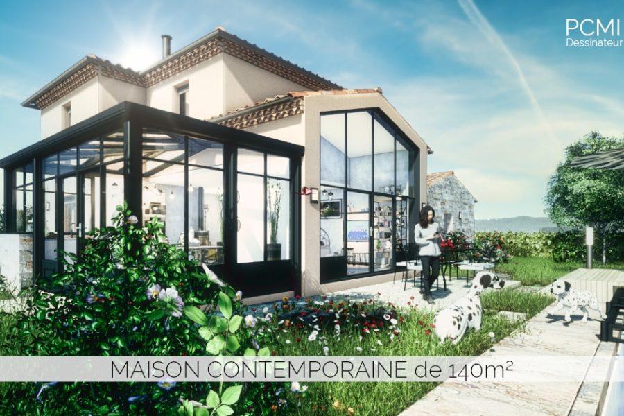 Maison contemporaine de 140m²