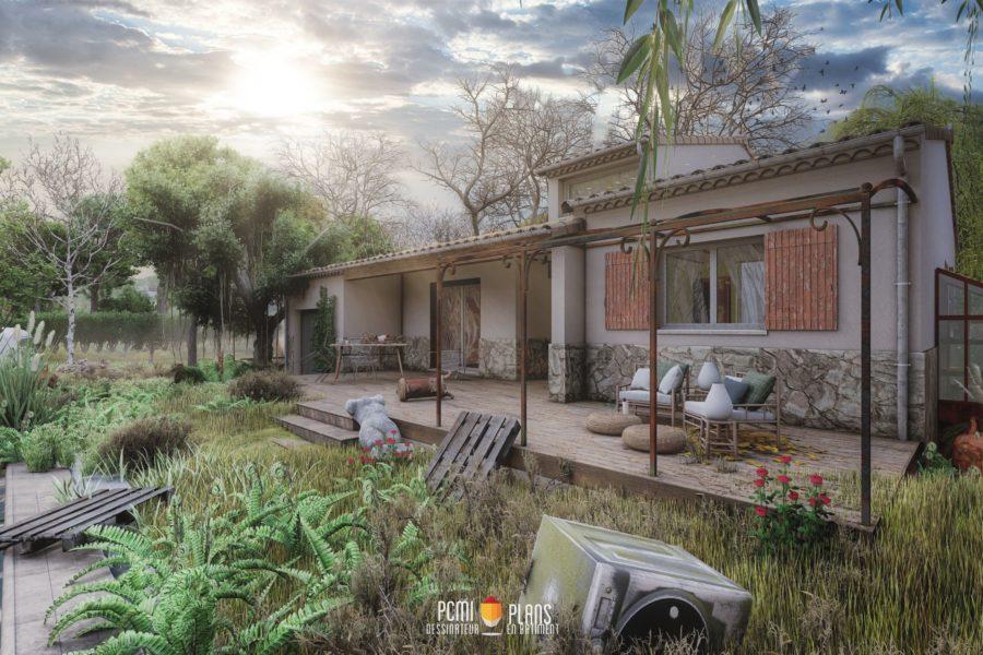 Maison traditionnelle de 100m²
