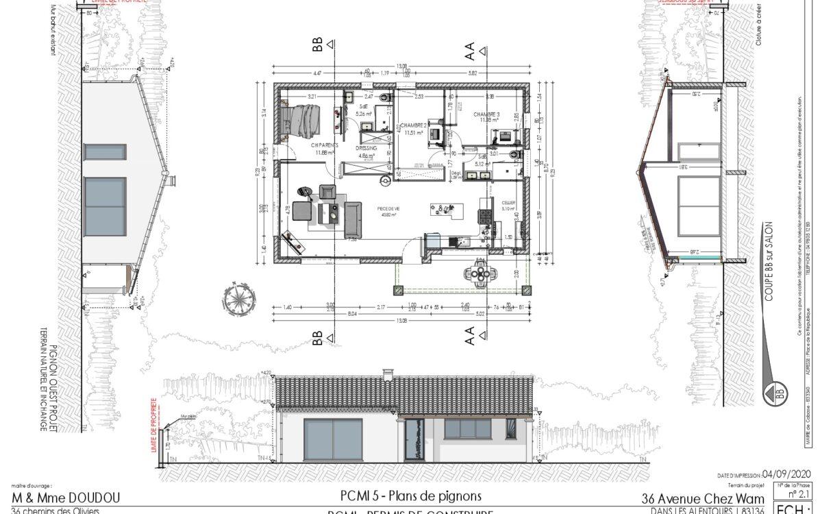 Réalisation de plan de maison