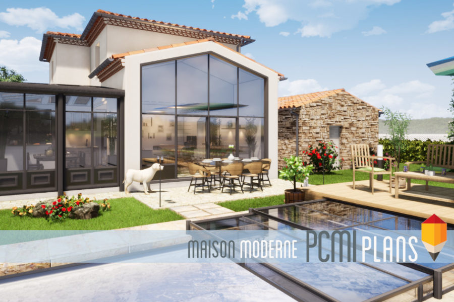 Maison moderne de 137m²