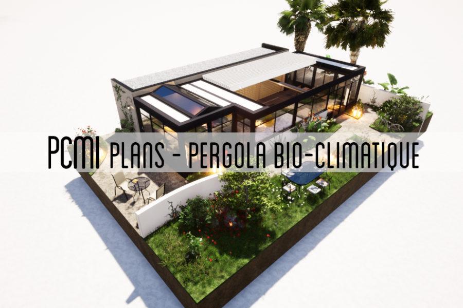 Pergola Bio-thermique de 39m²