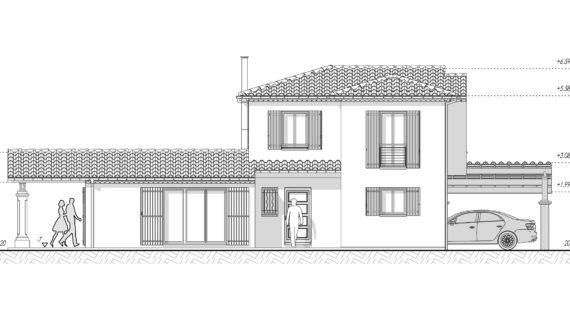 PCMI 5 Façade d'une maison