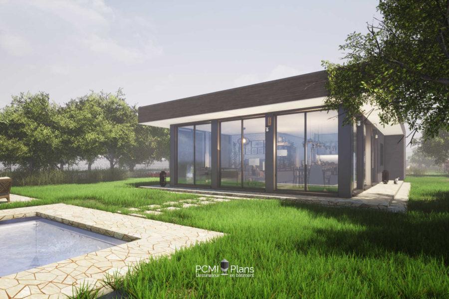 Maison à Ossature Bois de 110m²