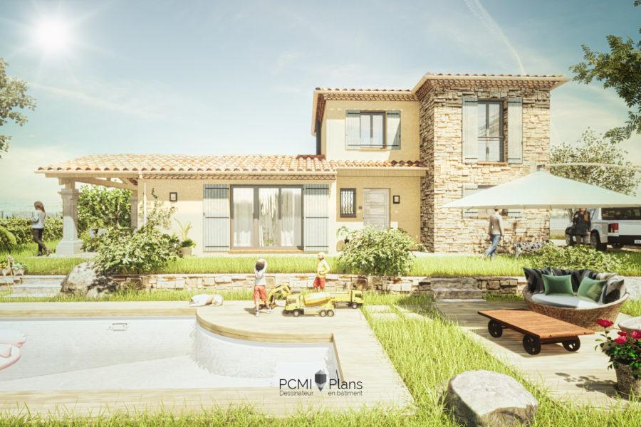 Maison traditionnelle de 120m²
