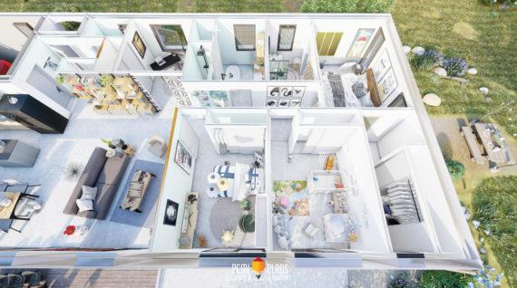 Plan 3D Maison 3D