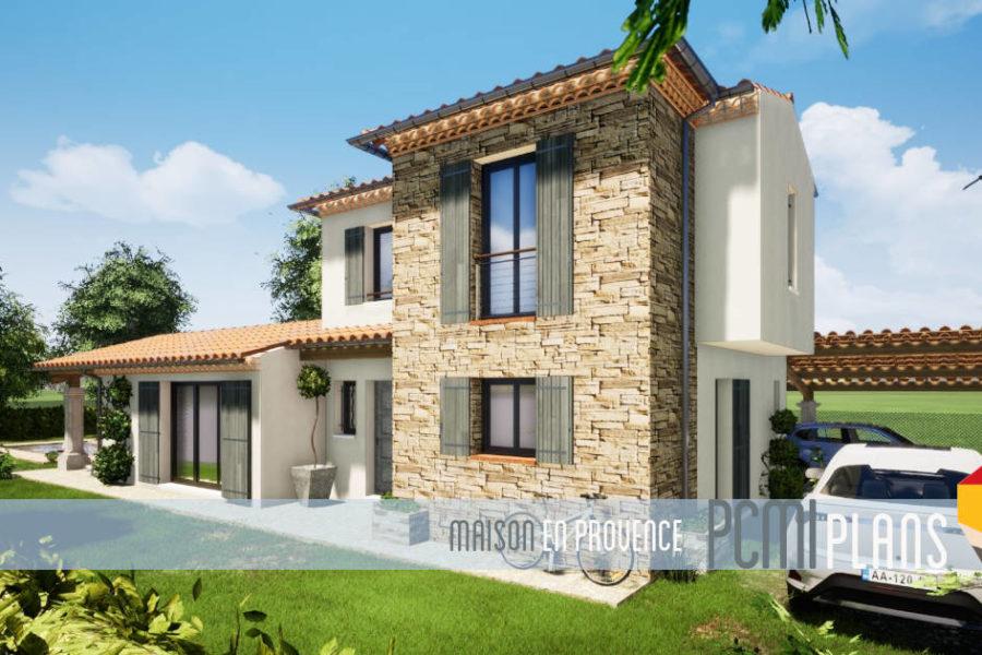 Maison de 120m² traditionnelle à La Roquebrussanne