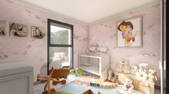 Rendu intérieur 3D Maison